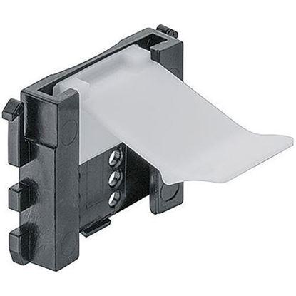 Obrázok pre výrobcu Häfele AXILO 637.47.490 držiak sokla k nasunutiu
