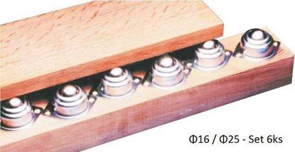 Obrázok pre výrobcu Dopravné ložiská D25 - set 6ks 360B256