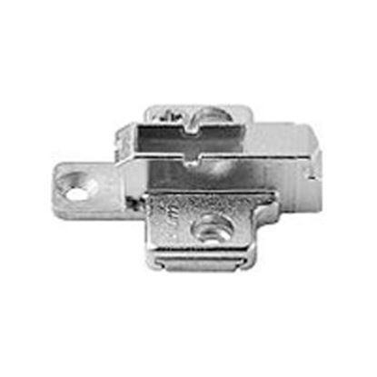 Obrázok pre výrobcu BLUM 175H9160 Montážna podložka CLIP krížova 37/32 mm