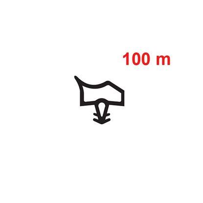 Obrázok pre výrobcu Primo EV 3967 tesnenie dverové 100 m