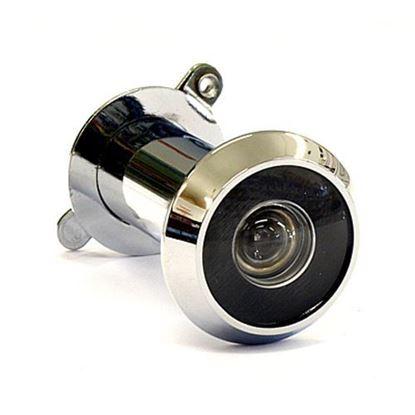 Obrázok pre výrobcu Kukátko LUX matný hliník 35-50 mm s krytkou 2868-2