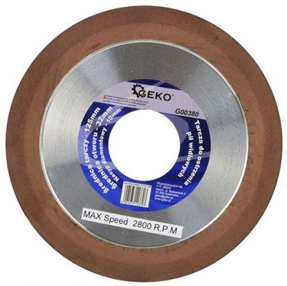 Obrázok pre výrobcu Brúsny kotúč diamant na ostrenie vídiových píl 125 x 32 x 10 mm G00380