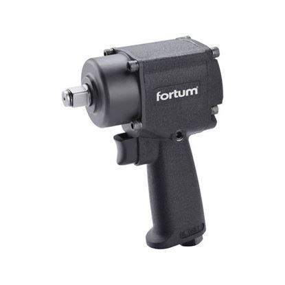 """Obrázok pre výrobcu FORTUM uťahovák príklepový, pneumatický 610 Nm, 1/2 """", TwinHammer 4795010"""