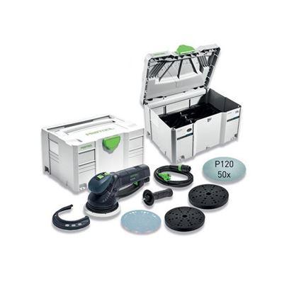 Obrázok pre výrobcu FESTOOL RO 150 ROTEX CAMP-Set brúska excentrická 575967