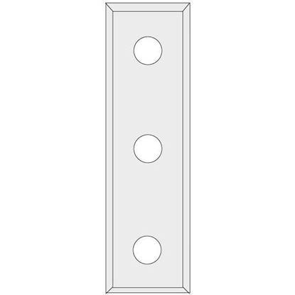 Obrázok pre výrobcu IGM N012 Žiletka tvrdokovová Z4 - 3 upínacie otvory