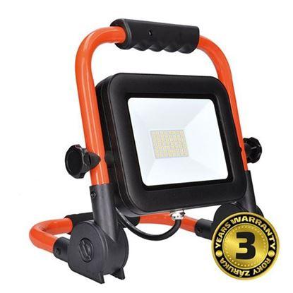 Obrázok pre výrobcu Solight LED reflektor PRO so sklopným stojanom, 50W, 4250lm, 5000K WM-50W-FEL