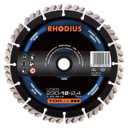 Obrázok pre výrobcu RHODIUS kotúč diamantový LD300 TOP