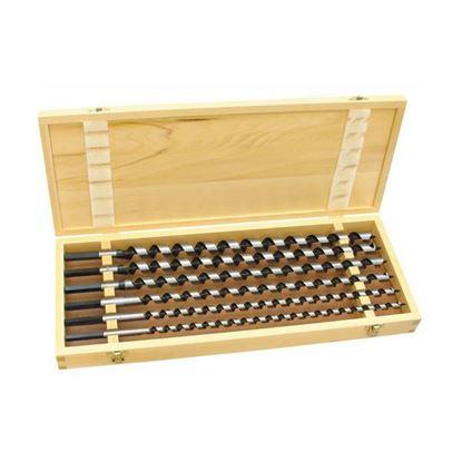 Obrázok pre výrobcu PROTECO sada špirálových vrtákov do dreva 6 dl 460 mm 42.12-SADA-460