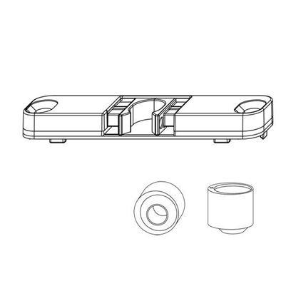 Obrázok pre výrobcu MACO záskočka dverová 213460 + kolík 362446