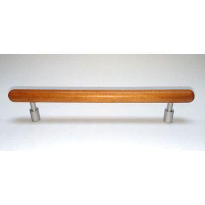 Obrázok pre výrobcu Úchytka PRECIOSA 128 mm čerešna + mat. chróm DOPREDAJ