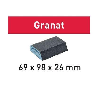 Obrázok pre výrobcu FESTOOL brúsna špongia zrezaná 69x98x26 mm P-120 1ks GRANAT