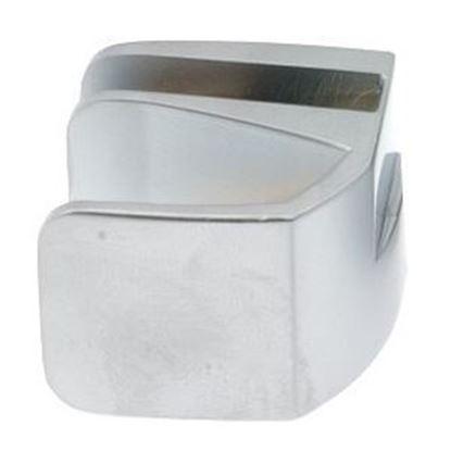 Obrázok pre výrobcu Príchytka na jednosklo SQUARE 2408 chróm