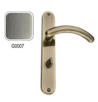 Obrázok pre výrobcu GAMET Dverová kľučka DH-L-11 na WC, 07 NEREZ 70mm kl+kl VÝPREDAJ