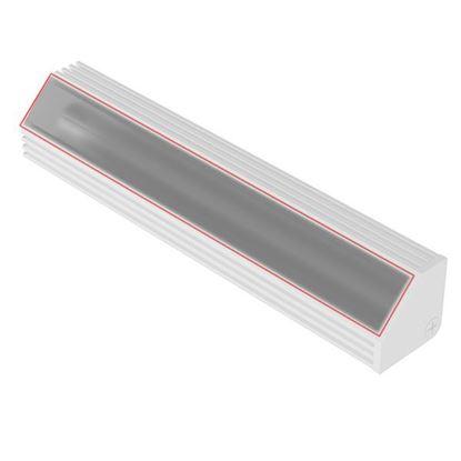 Obrázok pre výrobcu ZOBAL 061008ML plast, krytka do LED profilu mliečna 3,5 m