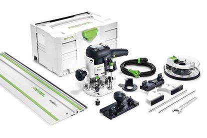 Obrázok pre výrobcu FESTOOL vrchná fréza OF 1010 EBQ set + Box-OF-S 8/10x HW 574384