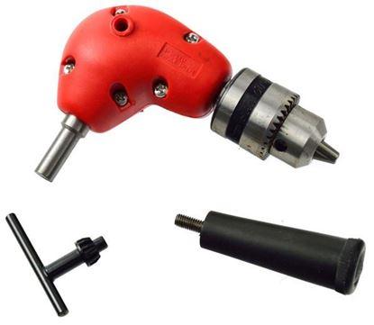 Obrázok pre výrobcu GEKO nadstavec uhlový do vŕtačky, skľučovadlo 1-10 mm G00559