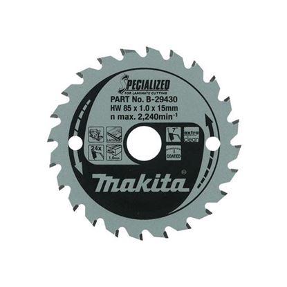 Obrázok pre výrobcu MAKITA B-29452 pílový kotúč na laminát 165 x 20 mm, 52z