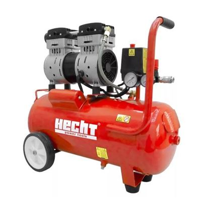 Obrázok pre výrobcu HECHT 2080 bezolejový kompresor 800 W, 24l /tichý/