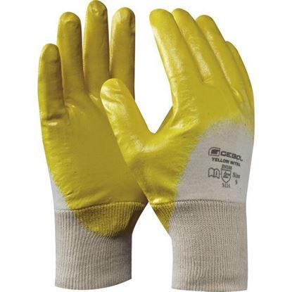 Obrázok pre výrobcu GEBOL rukavice YELLOW NITRIL 709510 č.10