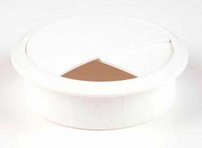 Obrázok pre výrobcu Káblová priechodka 70 mm biela 11409
