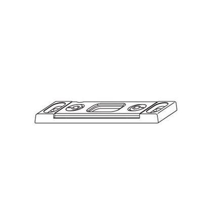 Obrázok pre výrobcu MACO protiplech k uzatváracím bodom pre Z-TS a G-TS Eurofalz 18mm 58667