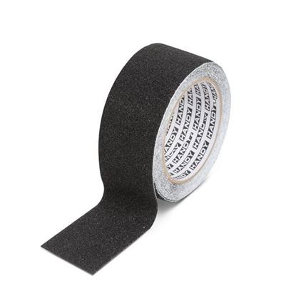Obrázok pre výrobcu Lepiaca páska - protišmyková 5 m čierna