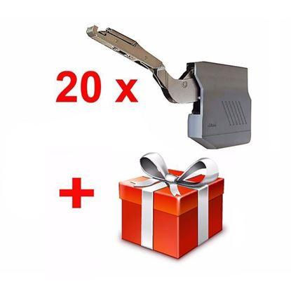 Obrázok pre výrobcu 20 x Blum AVENTOS HK-S silný výklop + Darček ZADARMO