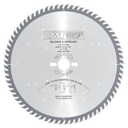 Obrázok pre výrobcu CMT Pílový kotúč na lamino a DTD 300 mm 96z /281.096.12M/