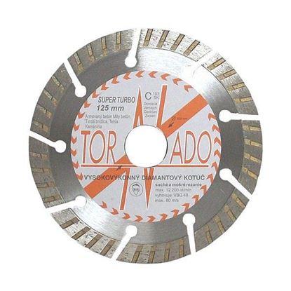 Obrázok pre výrobcu Diamantový kotúč TORNADO Super Turbo