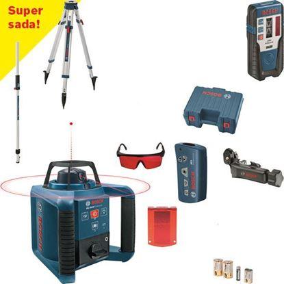Obrázok pre výrobcu BOSCH rotačný lasér GRL 250 HV Professional set 0601061600