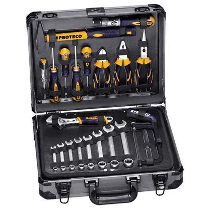 Obrázok pre výrobcu PROTECO sada náradia v kufríku 129-dielna 42.04-11129