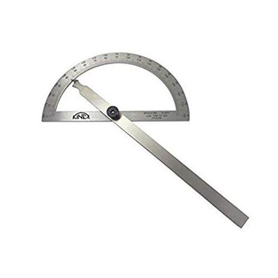 Obrázok Oblúkový uhlomer KINEX nerezový 120/200mm 1089-07-200