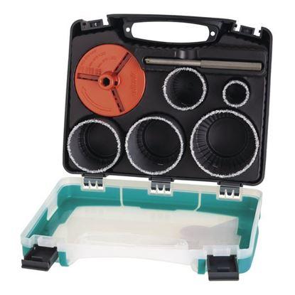 Obrázok pre výrobcu WOLFCRAFT sada vykružovačov v kufri 33-83 mm 3464000