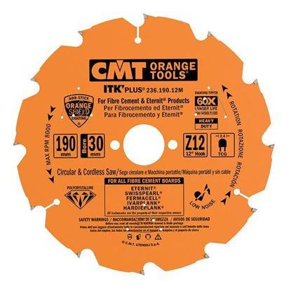 Obrázok pre výrobcu CMT C236 Diamantový pílový kotúč na cementotrieskové dosky