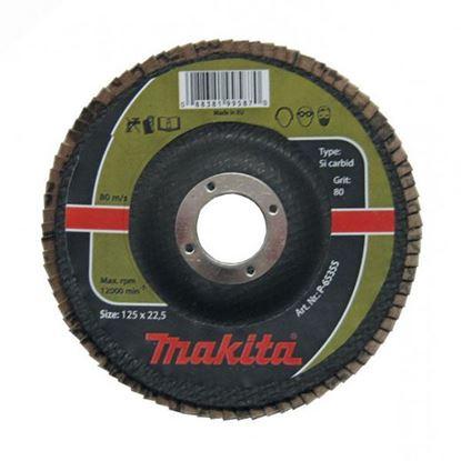"""Obrázok pre výrobcu MAKITA lamelový kotúč na kameň 125mm """"Silizium Karbid"""""""