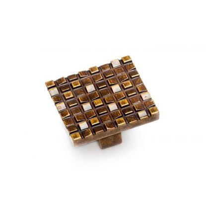 Obrázok pre výrobcu DC úchytka CD3001 knopok, 32 mm, AB staré zlato