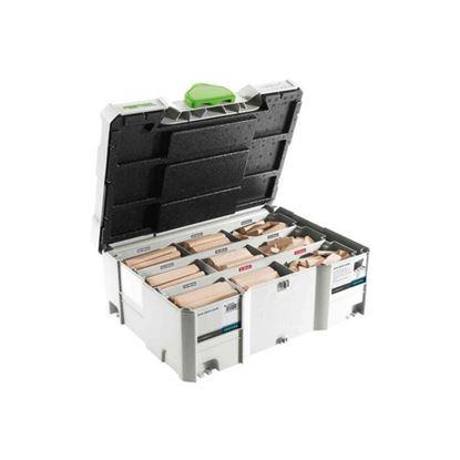 Obrázok pre výrobcu FESTOOL sada kolíkov DOMINO XL buk D8/D10 306x 498204