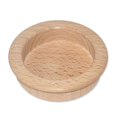 Obrázok pre výrobcu Drevená úchytka zádlabná, surová