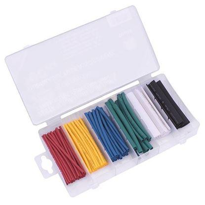 Obrázok pre výrobcu XL-TOOLS Sada farebných termosťahovacích trubkových izolácii, 100-dielna 2.TER100