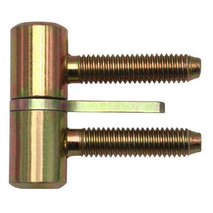 Obrázok pre výrobcu Záves okenný šrobovací s kolíkom TKZ 40mm