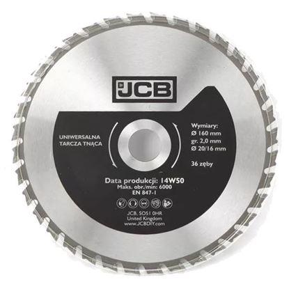 Obrázok pre výrobcu JCB pílový kotúč do dreva 160 mm, 36 zubov