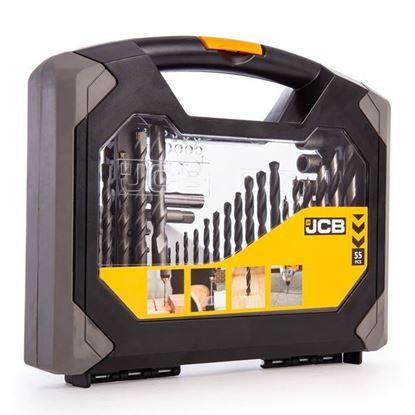 Obrázok pre výrobcu JCB 55 dielna sada vrtákov a bitov 37957