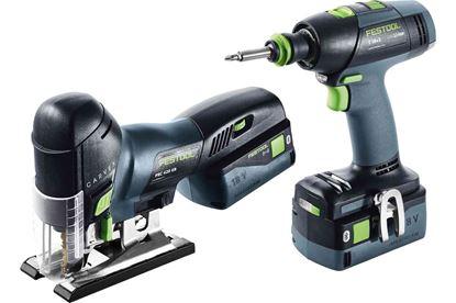 Obrázok pre výrobcu FESTOOL sada náradia T 18+3/ + PSC 420 Li I-Set 575696