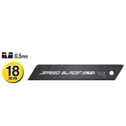 Obrázok pre výrobcu GEBOL čepele OLFA Speed blade LFB-5B, 18mm, 5ks 857214