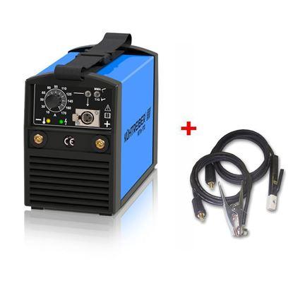 Obrázok pre výrobcu Kühtreiber KITin 170 MMA/TIG + Zváracie káble 3 m/16 mm²