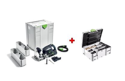 Obrázok pre výrobcu Festool DOMINO DF 700 EQ-Plus Kolíkovacia fréza 574320 + Sortiment spojovacích prvkov 201353