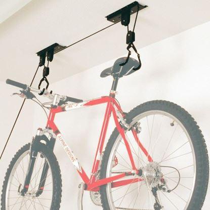Obrázok pre výrobcu DEMA Stropný výťah na bicykel, držiak 10494D