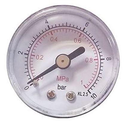 """Obrázok pre výrobcu Plastový manometer 40mm 0-16 bar 1/8"""" MZ01-15"""