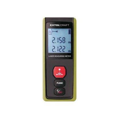 Obrázok pre výrobcu EXTOL laserový merač vzdialenosti 0,05 - 40 m 920201