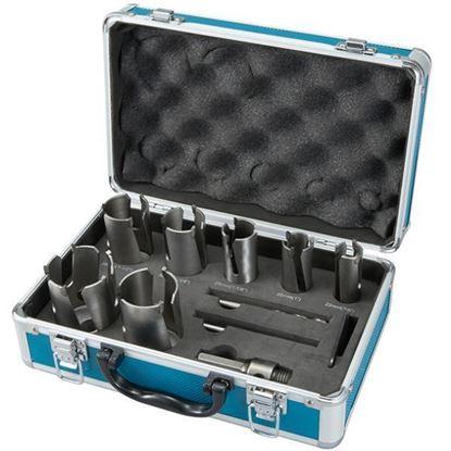 Obrázok pre výrobcu MAKITA D-51281 sada vykružovačov v kufríku 10-dielna SDS plus